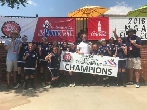 '07/06' Girls - Elite Cup Champions