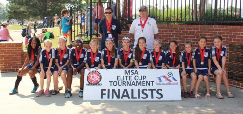 '07' Girls Elite - Elite Cup Finalists