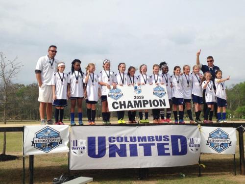 '07' Girls Elite - Friendly City Shootout Champions
