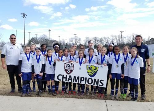 '07' Girls Elite - Starkville Frostbite Champions