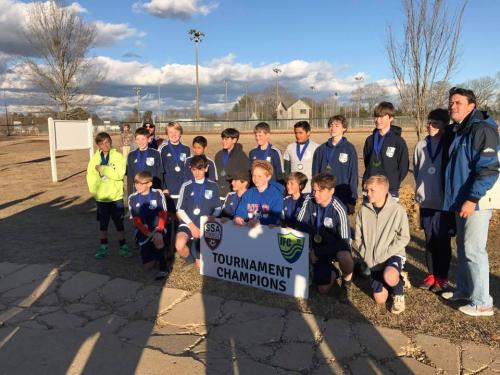 04 Boys Champions - Starkville Frostbite