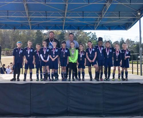 '08' Girls -Alabama Junior Cup Finalists