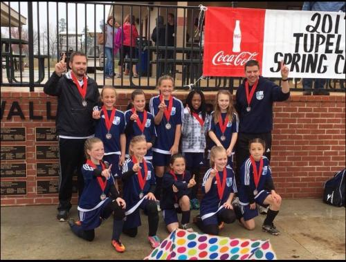 07 Girls Champions - Tupelo Spring Classic