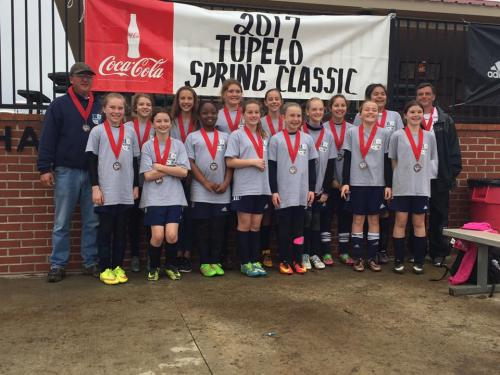 05 Girls Finalists - Tupelo Spring Classic
